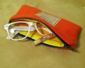 Liliglow Boutique's Tangerine Zip Case
