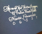 Clean and Elegant Calligraphy... Voted Best of the Knot 2015/2014/2013/2012