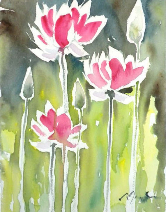 Fresh Pick No.185, limited edition of 50 fine art giclee prints from my original watercolor