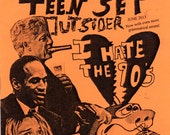 issue 24 of Rochester TeenSet Outsider I hate the 90's issue