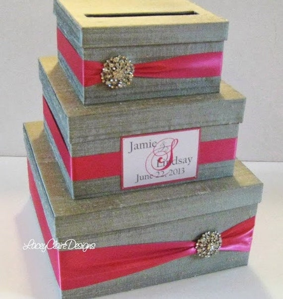 Wedding Gift Box Etsy : ... to Wedding Gift Box, Card Box, Money Holder - Custom Made on Etsy