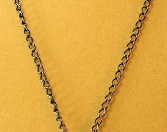 Beach Jewelry Brass Sand Dollar Turquoise Necklace