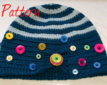 Crochet Pattern Notation : Footstool Crochet Pattern - PDF UK Notation from ...