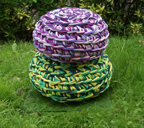 Footstool Crochet Pattern - PDF UK Notation from ...