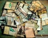 Vintage Art Stickers: 50 Vintage Collage Travel Stickers, Vintage postcard stickers, vintage envelope seals, vintage European stickers