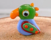 Tropical Parrot 7 by Mystic Moon Beads SRA U5