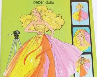 Fashion Photo Barbie and PJ Paper Doll 1978