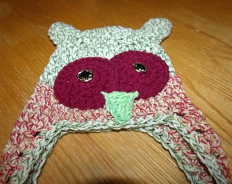Newborn Owl Hat - Photography Prop
