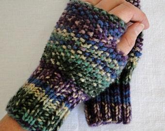 Knit Songbird Figerless Gloves