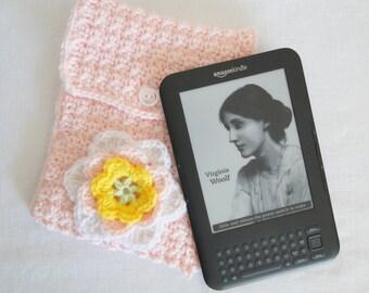 Hand Crochet Kindle/ Ipad/Netbook/Knook/Tablet Case