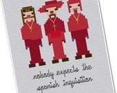The Spanish Inquisition - The *Original* Pixel People - PDF Cross-stitch Pattern - INSTANT DOWNLOAD