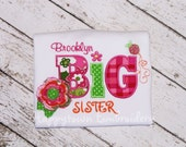 Big, Lil Cousin or Sister Shirt/One Piece - Personalized