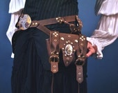 Holster Belt with One Transforming Bag