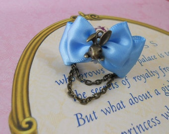 Bunny rabbit ring sweet lolita fairy tale alice in wonderland