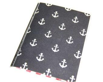 PASSPORT COVER - Anchors Aweigh. Passport Holder, Passport Case, Passport Wallet, Travel Gift Idea, Gift For Her, Wedding Gift, Honeymoon