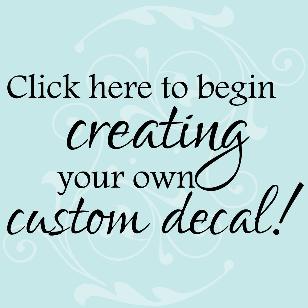 like this item custom wall sticker quote custom quote decal