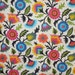 Colorful Viney Folkloric Print Pure Cotton Fabric from Dear Stella-One Yard