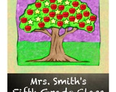 Personalized Teacher Appreciation Classroom Sign or Scrapbook page PRINT YOUR OWN