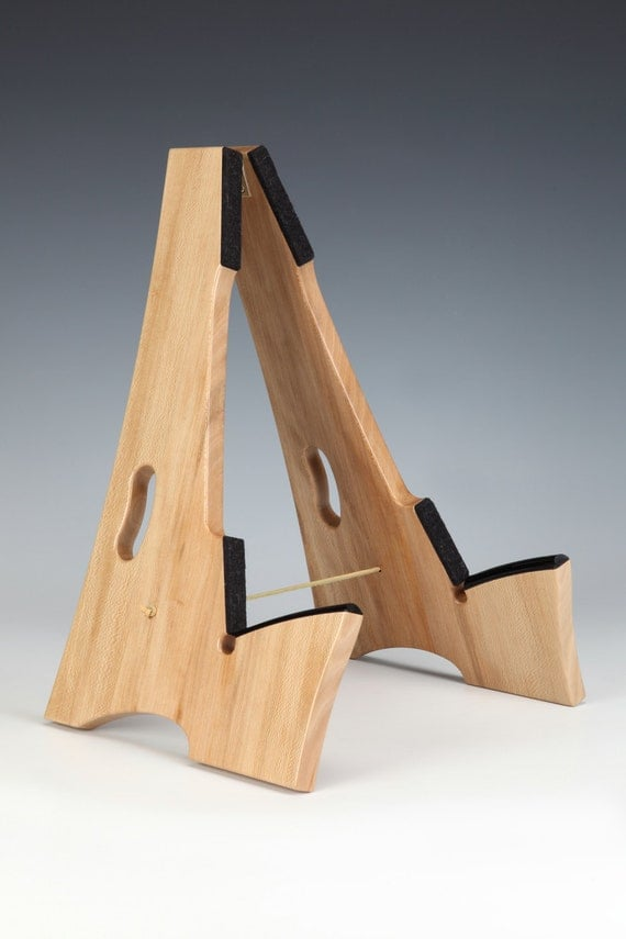 Items similar to Slay-Frame wooden guitar stand in QS ...