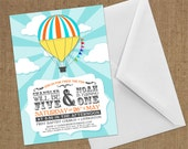 Invitations - Hot Air Balloon / Carnival - DIY Printable