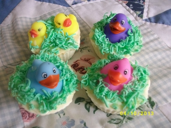 how to make rubber duck soap