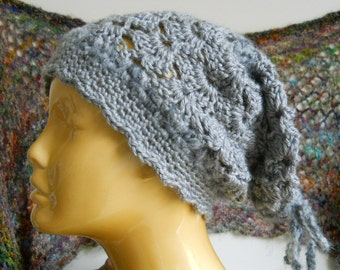 Slouchy crochet hat