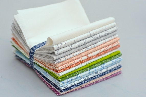 Architextures Fat Eighth Bundle of 17 by Carolyn Friedlander
