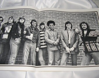 Chicago World Tour 1976 Program with Poster Centerfold FREE SHIPPING