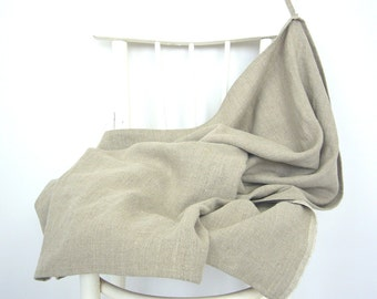 Linen bath towel sheet - Eco delight - stonewashed linen, sauna towel, beach towel, baby blanket,