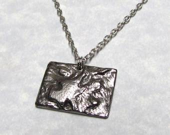 Colorado State Necklace Geology Land Scape
