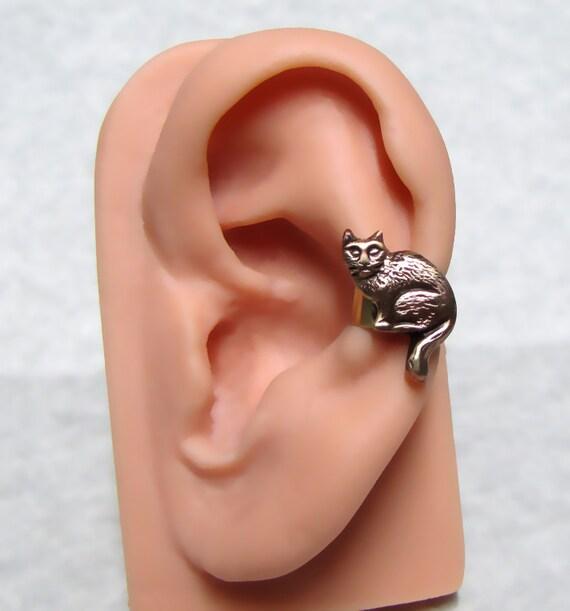 Kitty Cat Ear Cuff Left Side