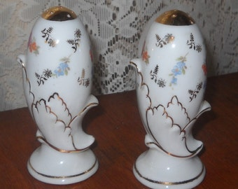 Shabby Chic Salt and Pepper shakers