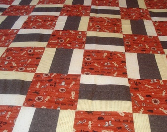 Country Western Lap Quilt