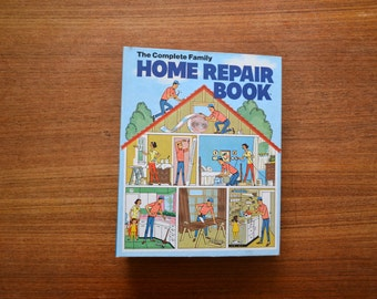 Vintage Home Repair Book 1972