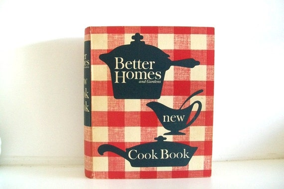 Vintage 1953 Better Homes And Garden Cookbook