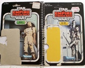 Bounty Hunters IG-88 and Bossk Recycled Vintage Star Wars ESB Notebook/Journal