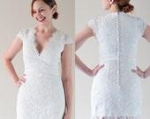 Teresa---Short fun wedding dress-made to order