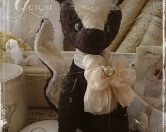 Sewing Pattern for 13 Inch Skunk