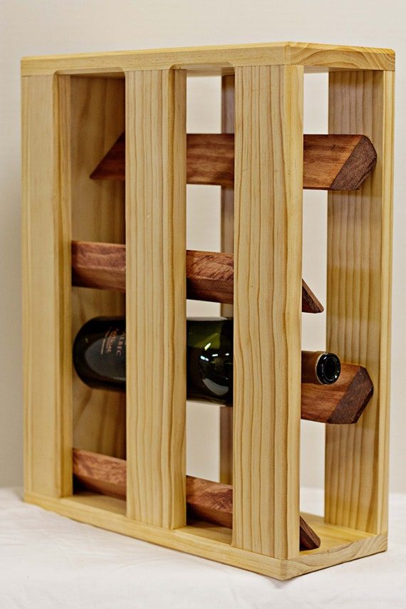 Wine Rack  (4 bottle)