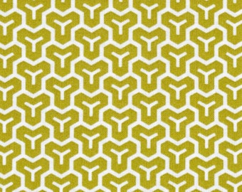Joel Dewberry - Modern Meadow - Honeycomb in Grass  JD37 - Free Spirit Fabric  - By the Yard