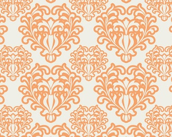 Passionate Spirit Peach  (SML-204) - Summerlove by Patricia Bravo - Art Gallery Fabric - By the Yard