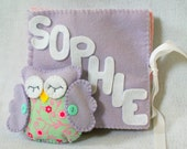 Personalized Handmade Kids - Baby Felt Name Book