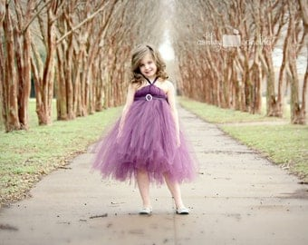 Atutudes Enchanting Eggplant Tutu Dress flower girl dress plum tutu dress