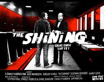 The Shining Screen print