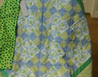 Frog Baby Quilt