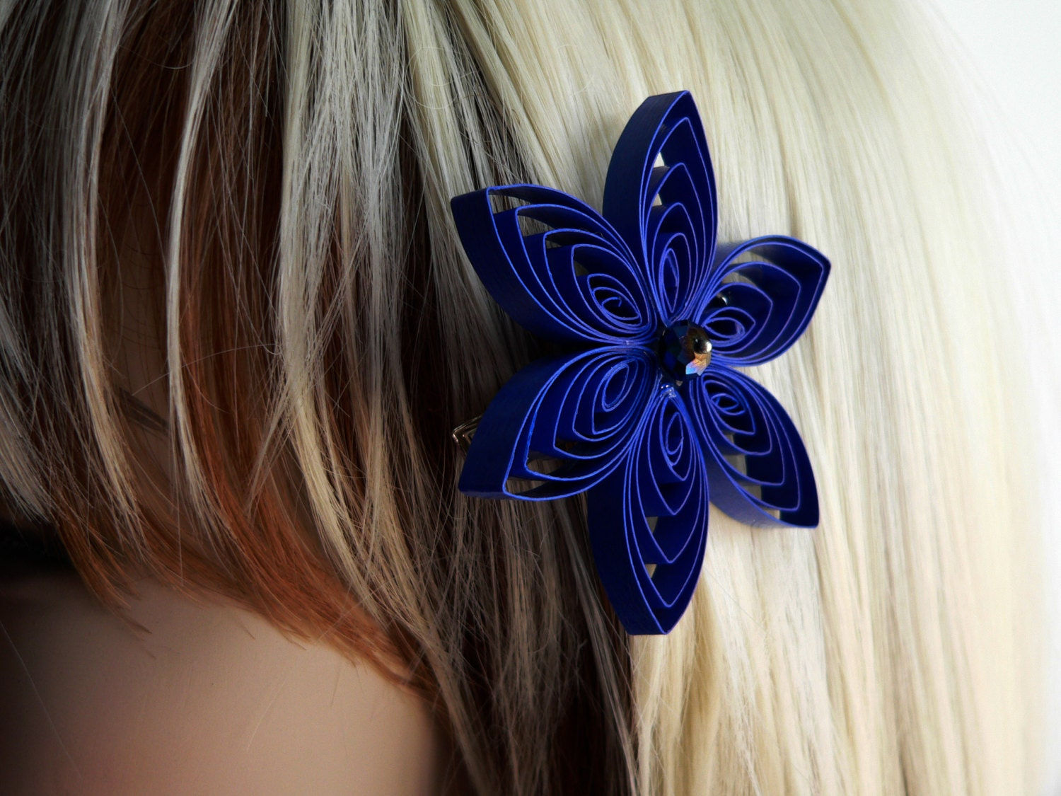 Blue Hair Flower Clips. Beauty. Hair Care. Styling Accessories. Blue Hair Flower Clips. Showing 40 of results that match your query. Product - Tropical Flower Light Blue and White Hair Clip With Yellow Center. Product Image. Price $ Product Title. Tropical Flower Light Blue and White Hair Clip With Yellow Center.