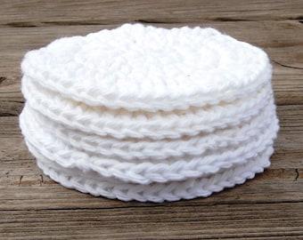 Crochet Round Cotton Scrubbers