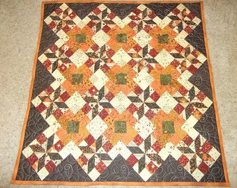 Fall Harvest Patchwork Quilt
