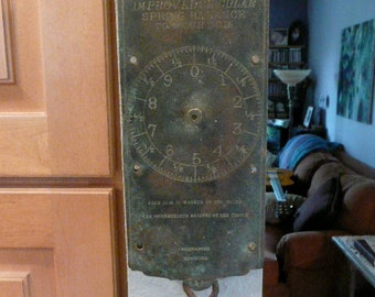 Very Cool Antique Wall Scale