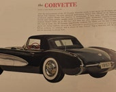 Reserved --- Collection of Vintage Auto Brochures and Posters